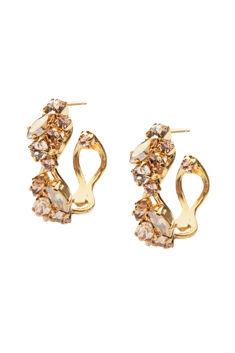 Örhängen Stella Loop Earring Gold