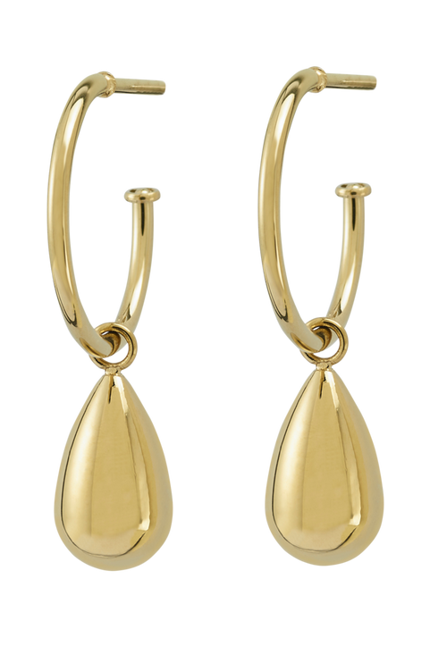 Örhängen Drop Mini Earrings Gold