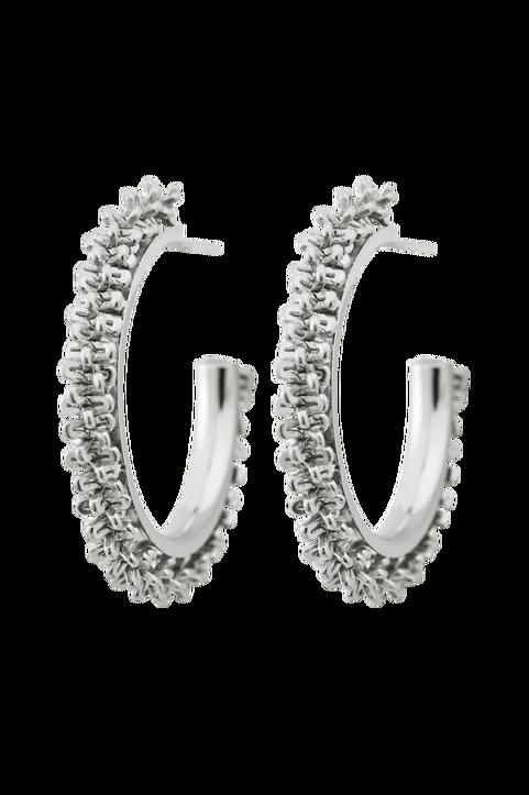 Örhängen Tinsel Earrings Creole Steel