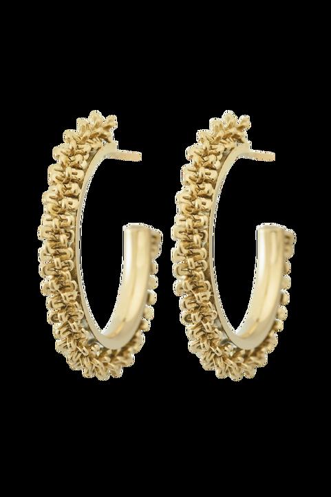 Örhängen Tinsel Earrings Creole Gold