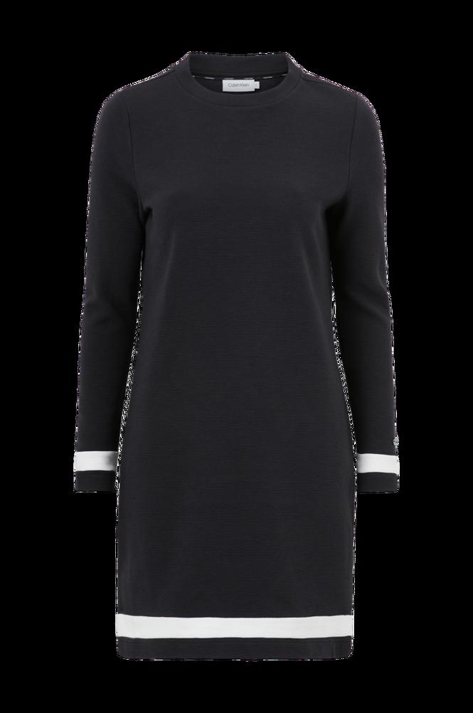 Calvin Klein Kjole Ottoman Colour Block LS Dress
