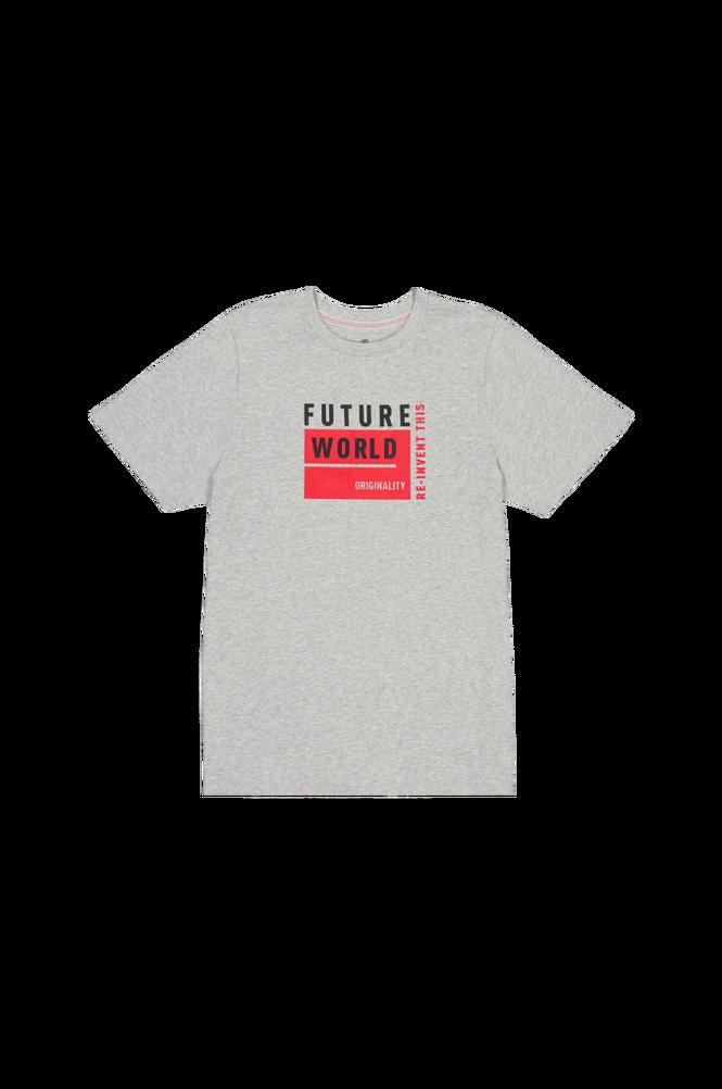 La Redoute T-shirt med rund halsudskæring, økologisk bomuld