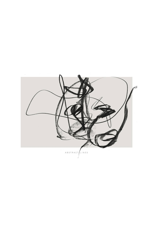Malerifabrikken - Poster Lines 2 - Natur