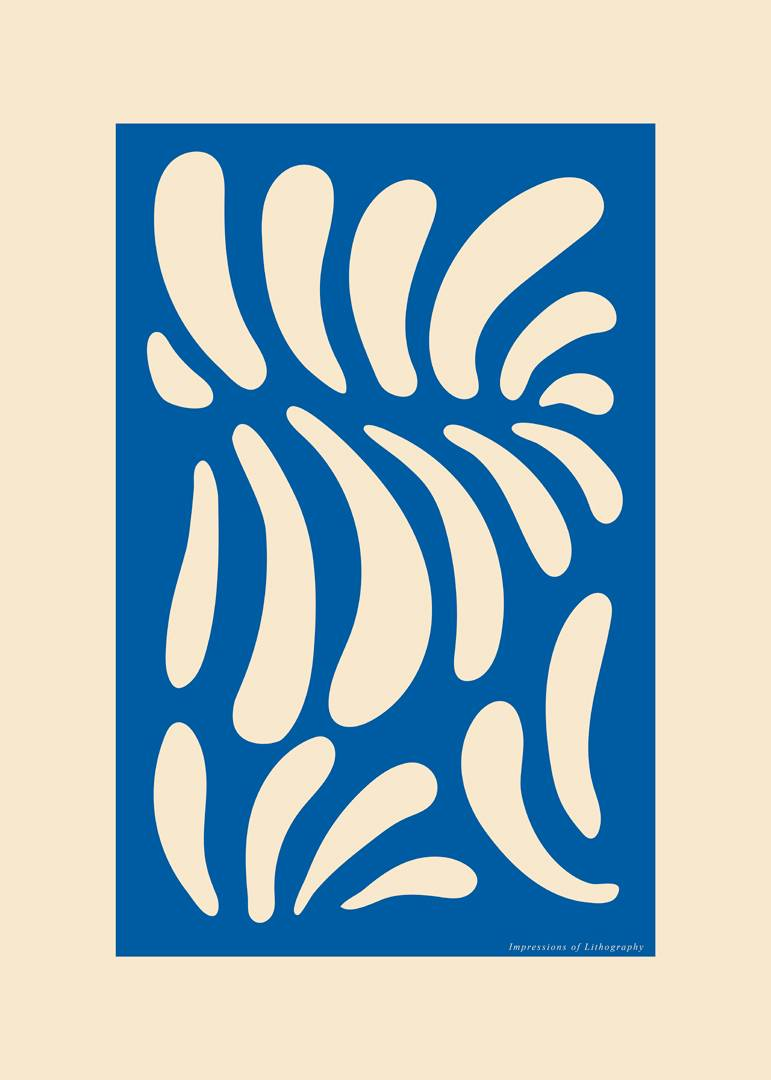 Malerifabrikken - Poster Lithography 2 - Natur