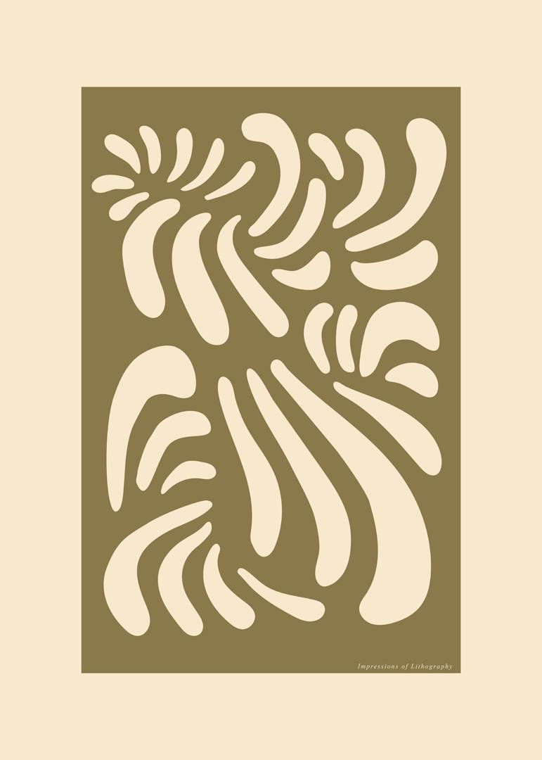 Malerifabrikken - Poster Lithography 1 - Natur
