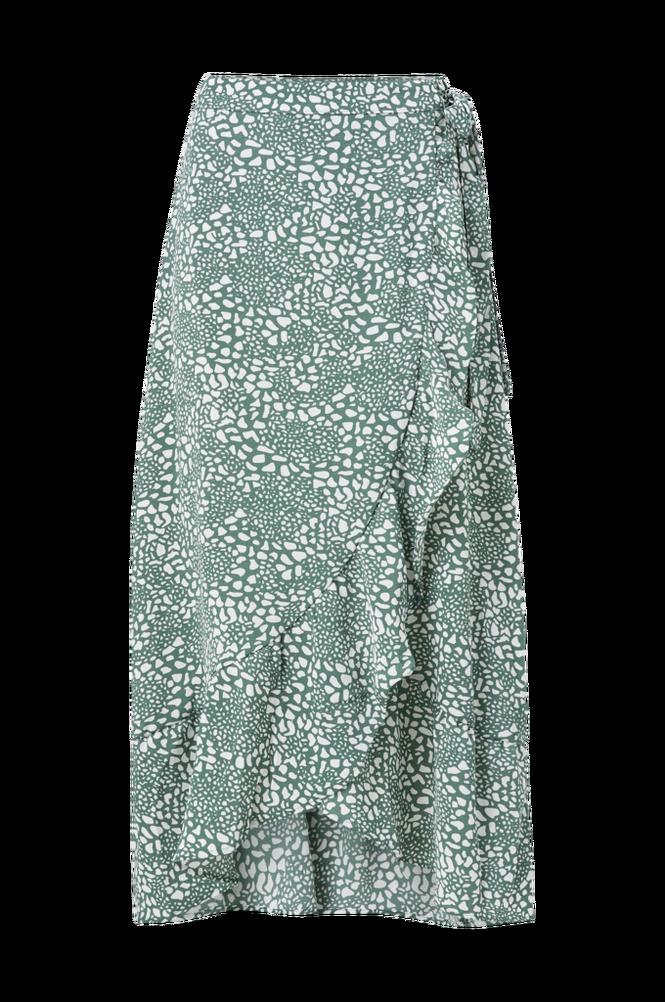 Vero Moda Slå om-nederdel vmSaga HW Wrap Ankle Skirt Wvn