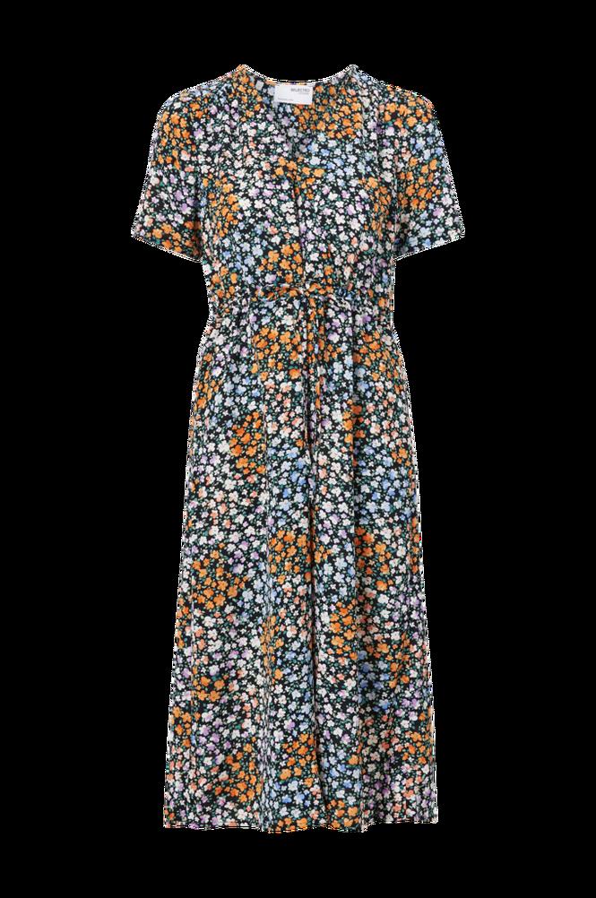 Selected Femme Kjole slfMoxy Damina SS Aop Midi Dress