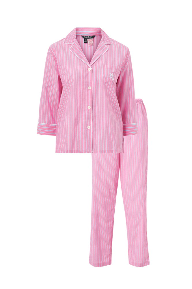 Lauren Ralph Lauren Pyjamas Notch Collar PJ Set