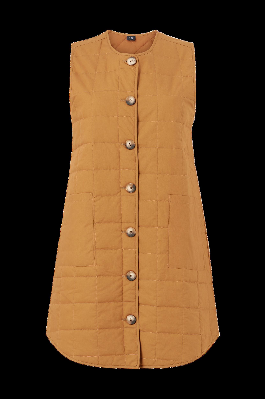 Gozzip - Väst Ali Long Waistcoat - Natur