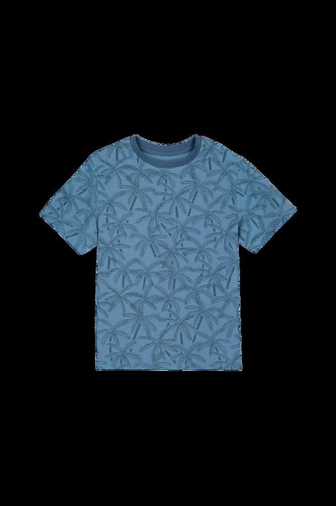 La Redoute T-shirt med palmemotiv, økologisk bomuld