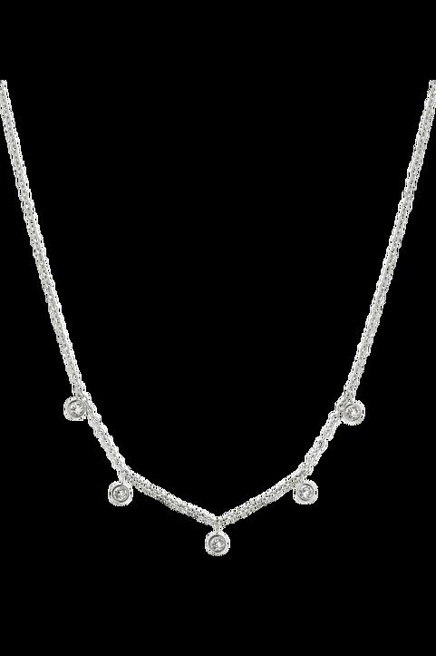 Halsband Dew Drop Necklace Multi Steel