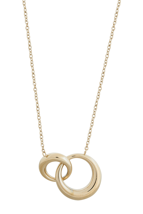 Halsband Furo Necklace Long Gold