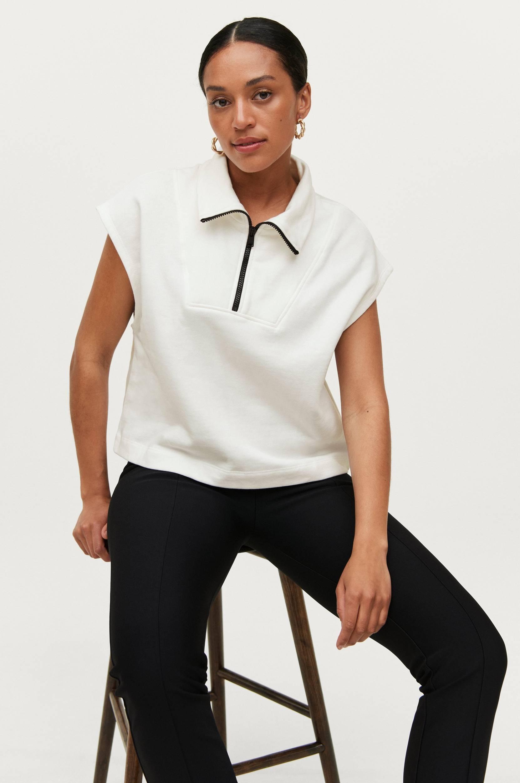 Gina Tricot - Sweatshirt Embla Vest - Natur
