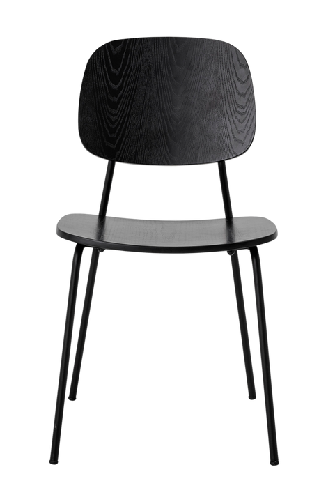 Monza Dining Chair, Black, Plywood