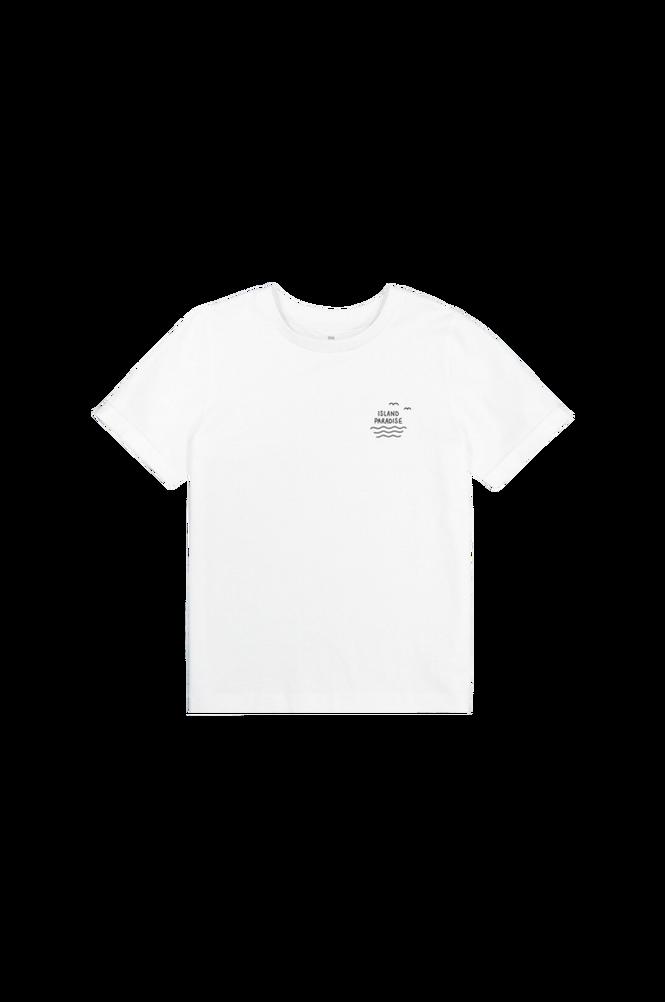 La Redoute T-shirt med rund halsudskæring og print bagpå