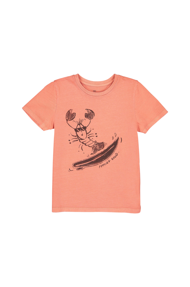 La Redoute T-shirt med print, økologisk bomuld