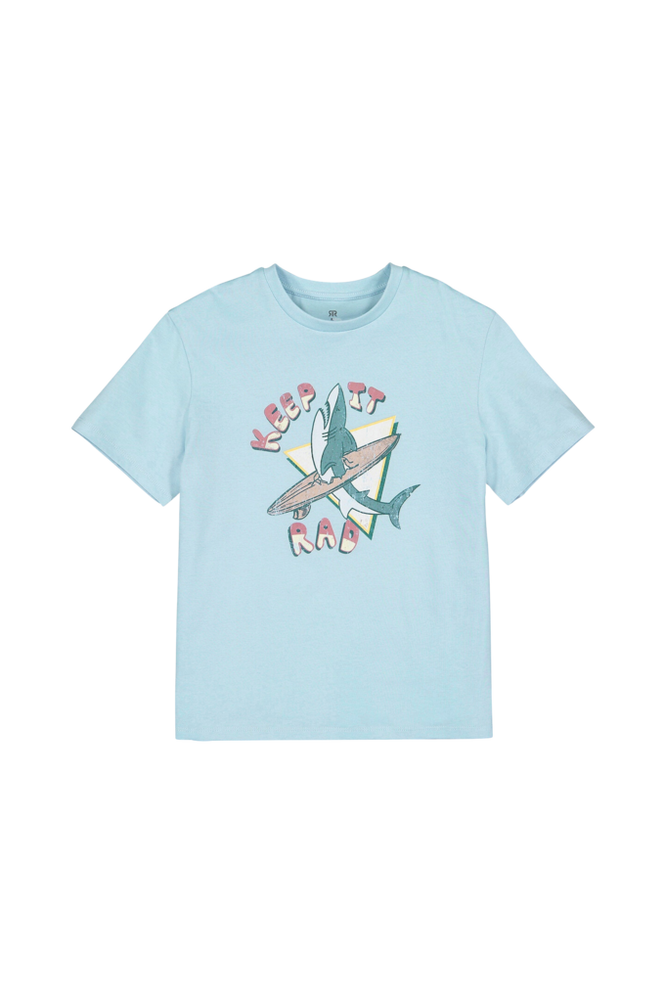 La Redoute T-shirt med rund hals og print