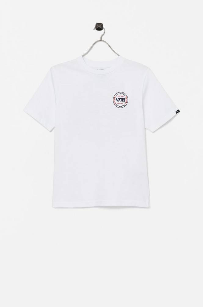 Vans T-shirt By Authentic Checker SS Boys