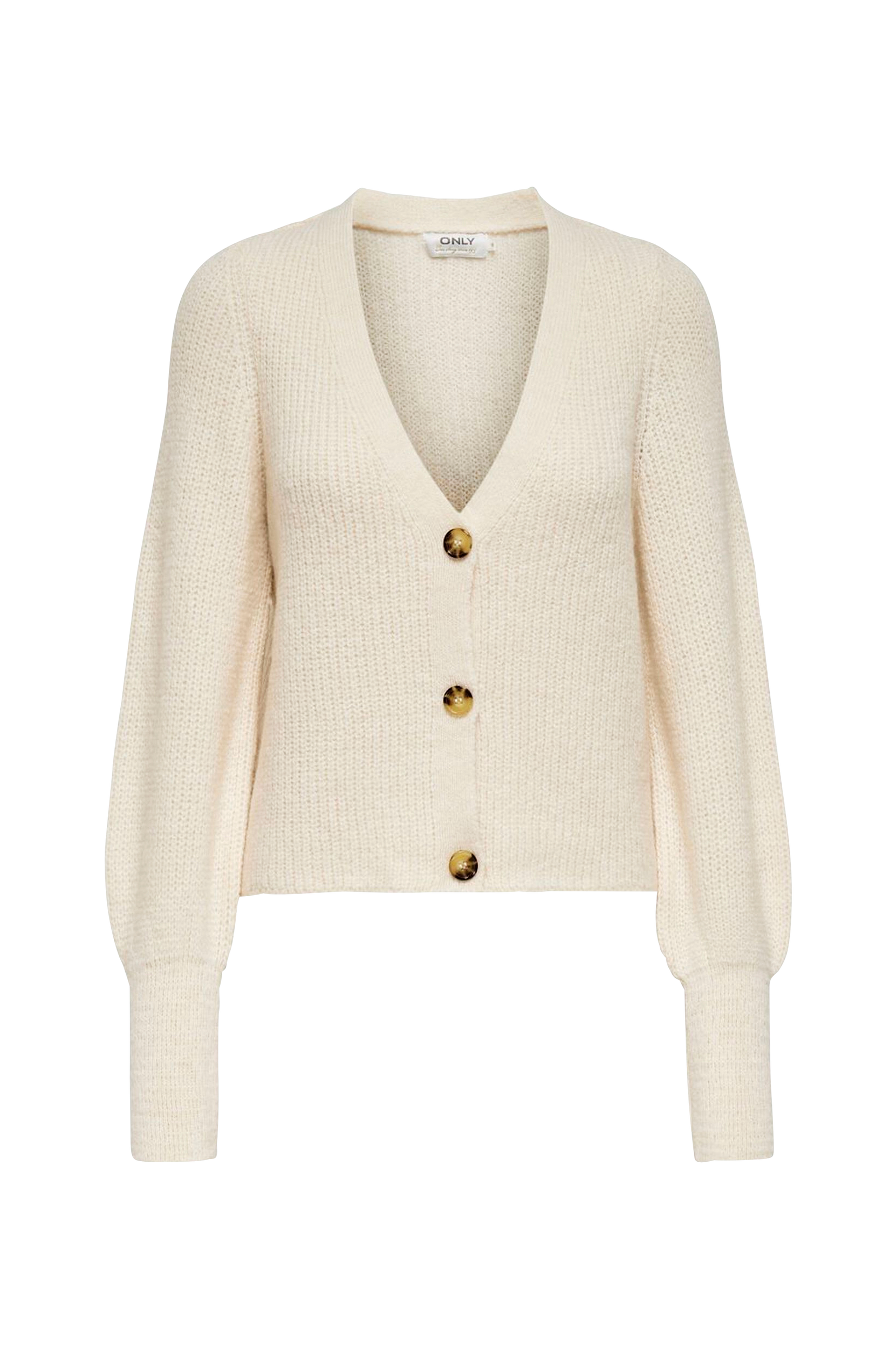 Only - Cardigan onlClare L/S Cardigan Knt - Natur