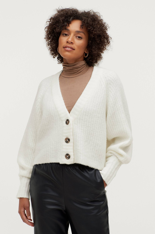 Gina Tricot - Cardigan Kayla Knitted - Natur