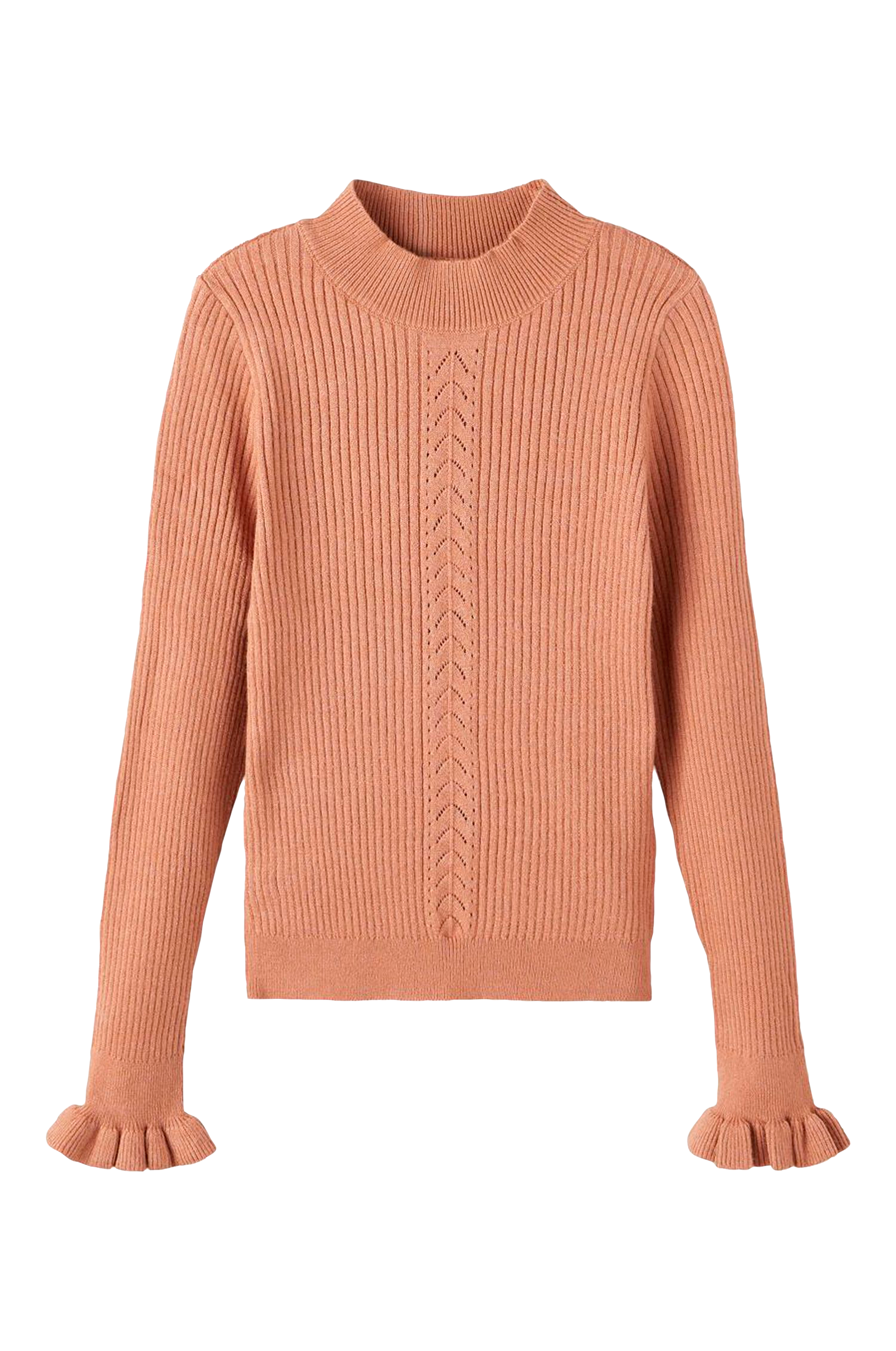 Name it - Topp nkfOnicolle LS Knit - Natur