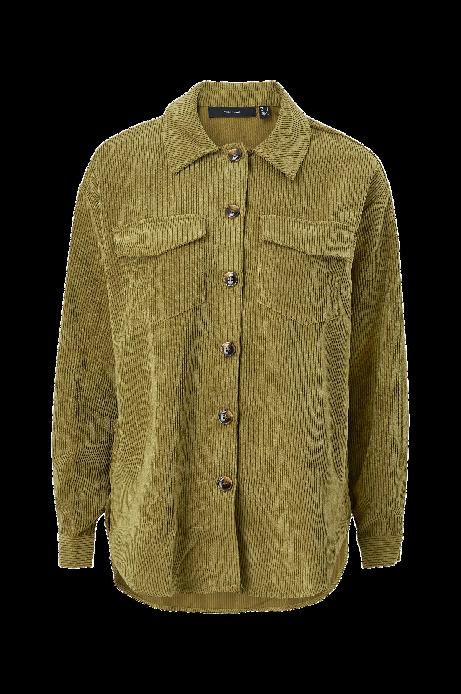 Vero Moda - Manchesterskjorta vmYuanna L/S Oversize Corduroy Shirt - Natur