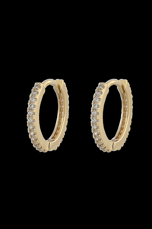 Snö of Sweden - Örhängen Hanni Small Ring Earring Gold - Guld