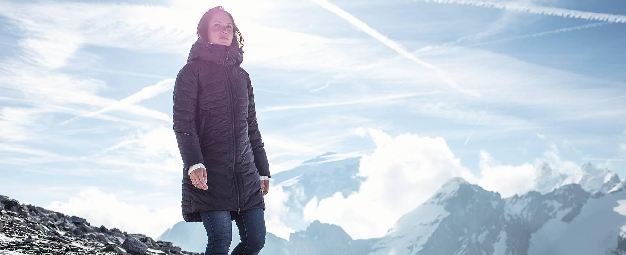 Upptäck áhkká outdoor : varma jackor & skor : vinter 2017
