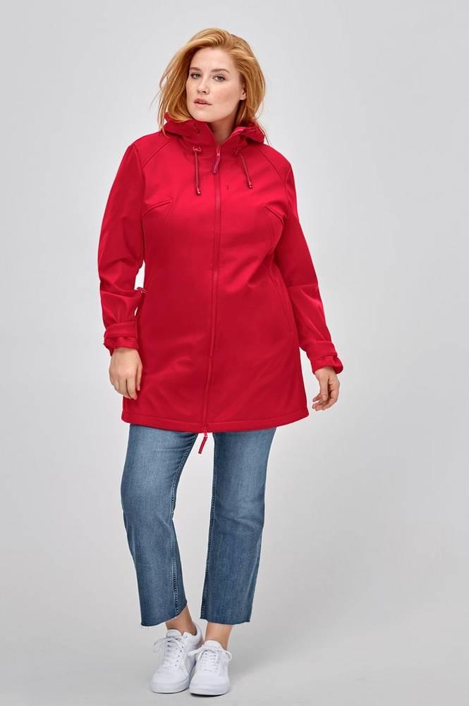 Ellos Softshell-jakke med hætte