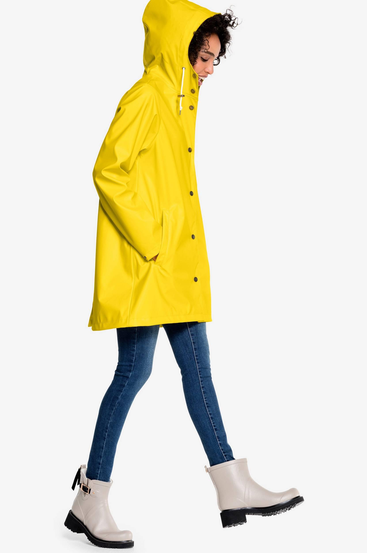 b320286e Regnjakke Jamila Rain Ellos Regntøj til Kvinder i Gul