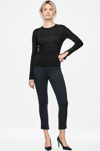 The split sleeve sweater -neulepusero