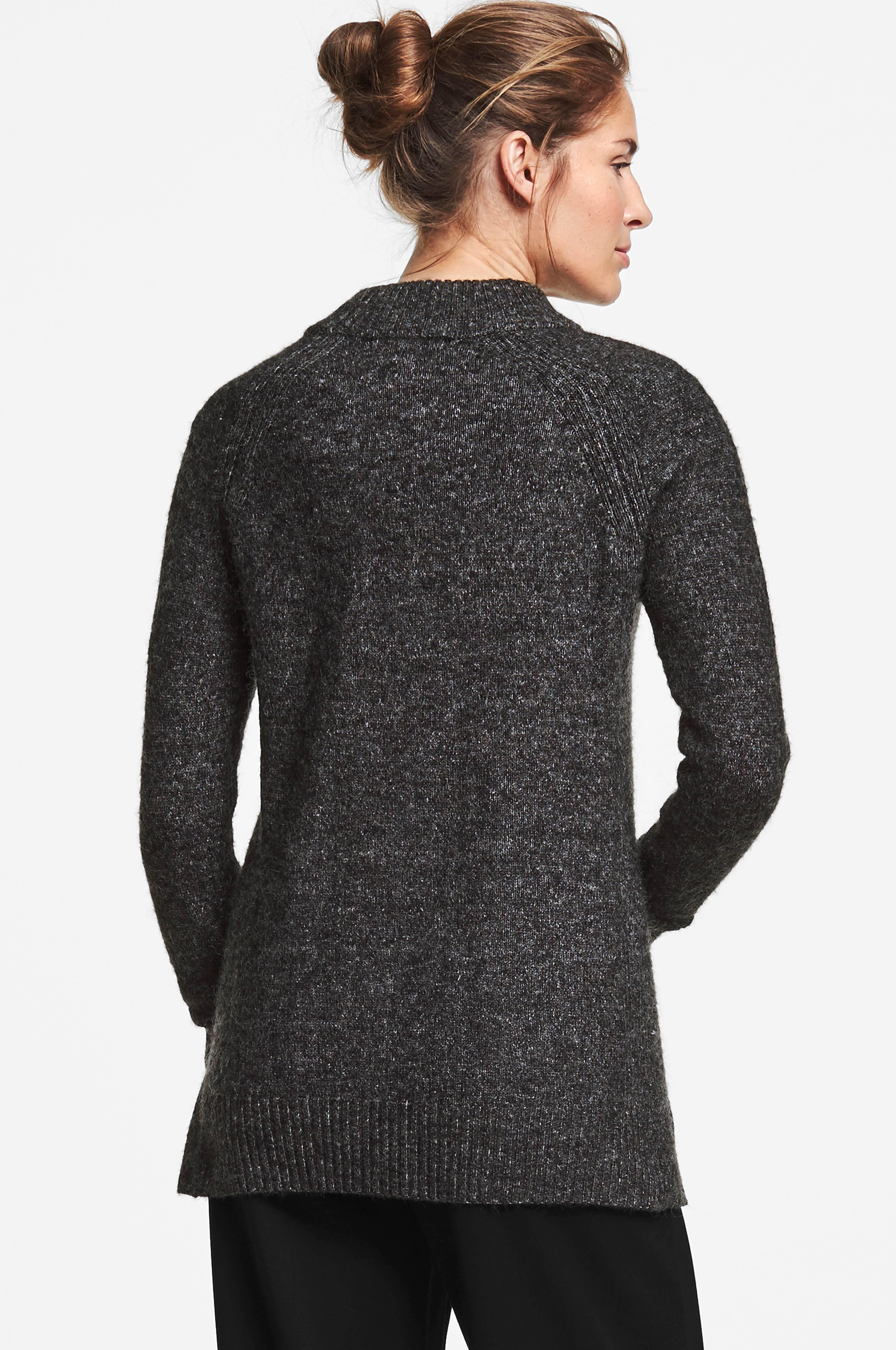 MORE THAN BASIC Tröja The chunky knit Svart Stickade