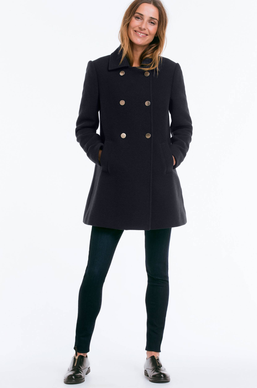 Sømandsjakke Ellos Jakker & frakker til Kvinder i Mørkeblå