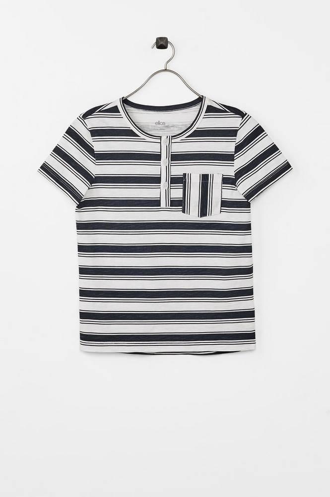 Ellos T-shirt Henley Albin