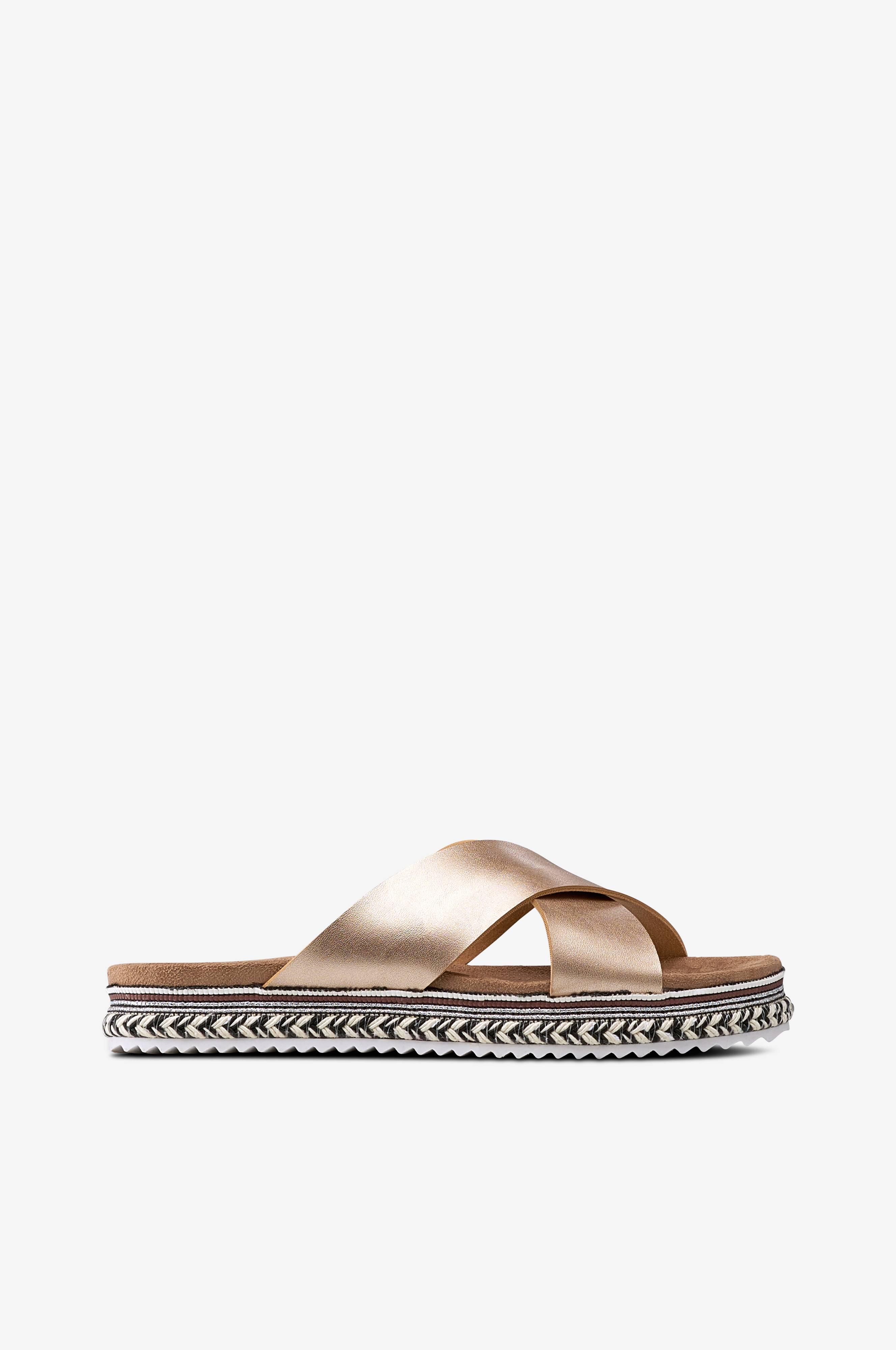 2b2d1012 Ellos Shoes Sandal Andorra - Guld - Dam - Ellos.se