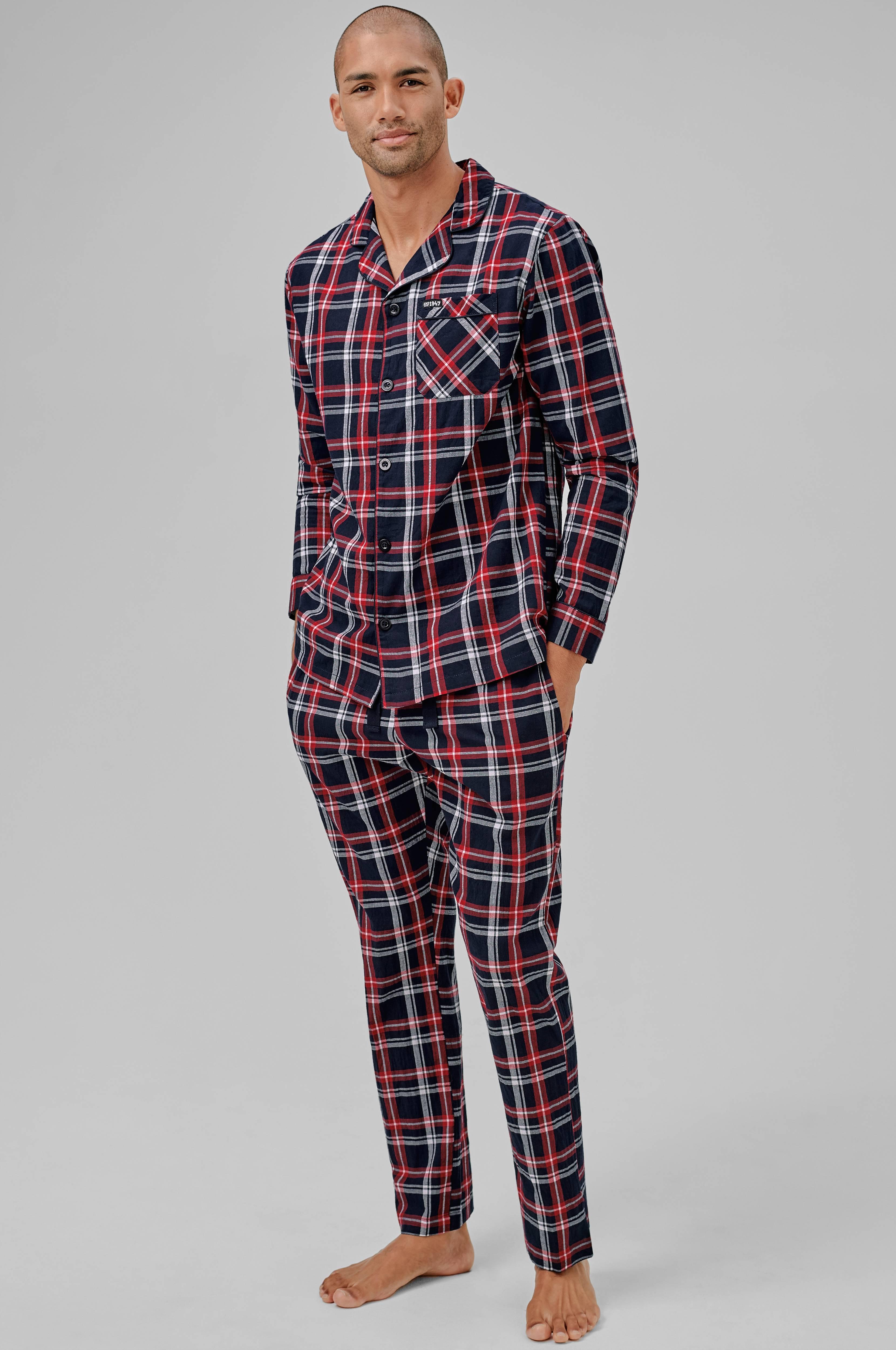 Herre Herre Men Men Men no Hugo Pyjamas Blå Ellos Ellos aIx1wd1