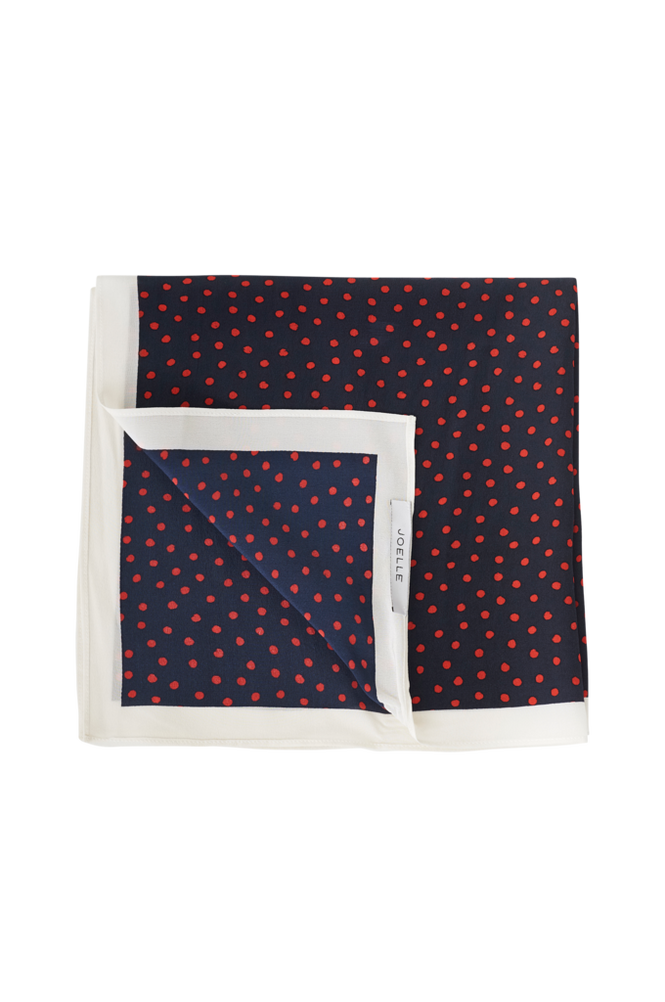 Joelle Tørklæde i silkekvalitet