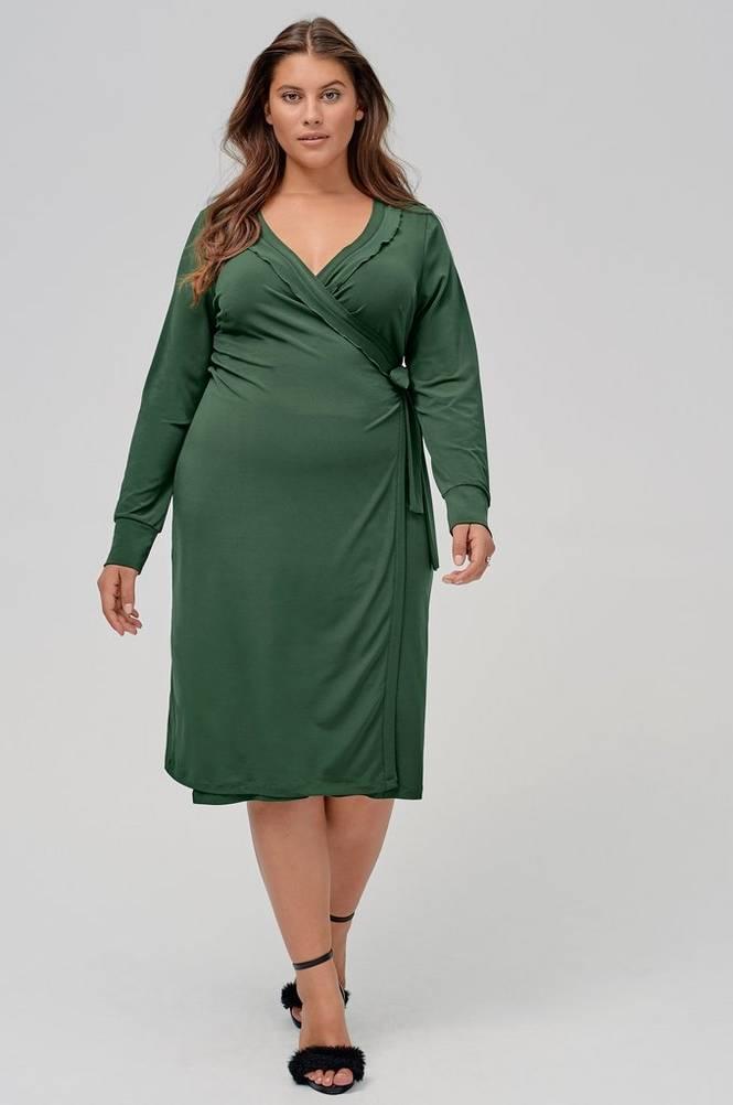 Ellos Slå om-kjole Shaloma
