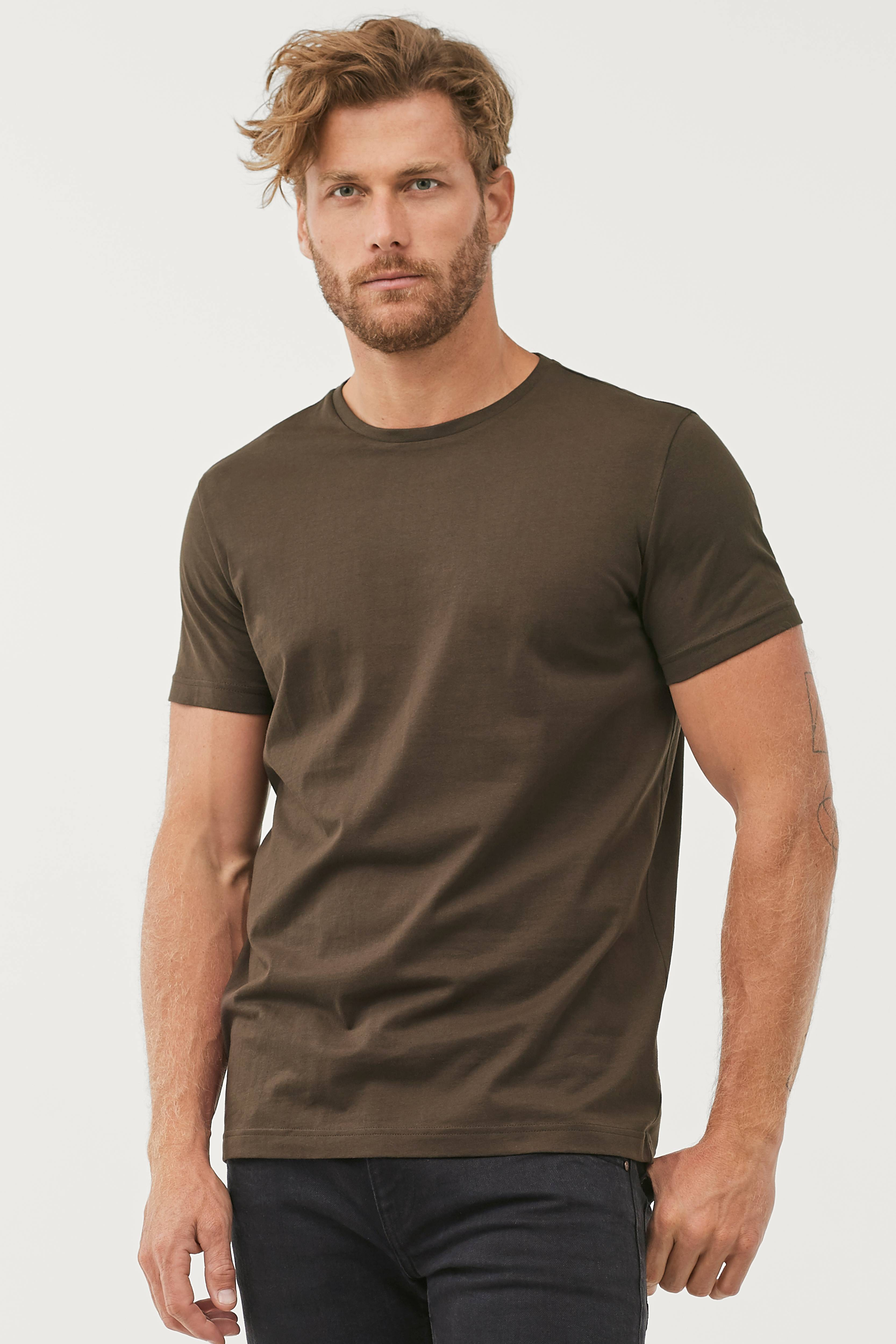 T shirt med rund hals