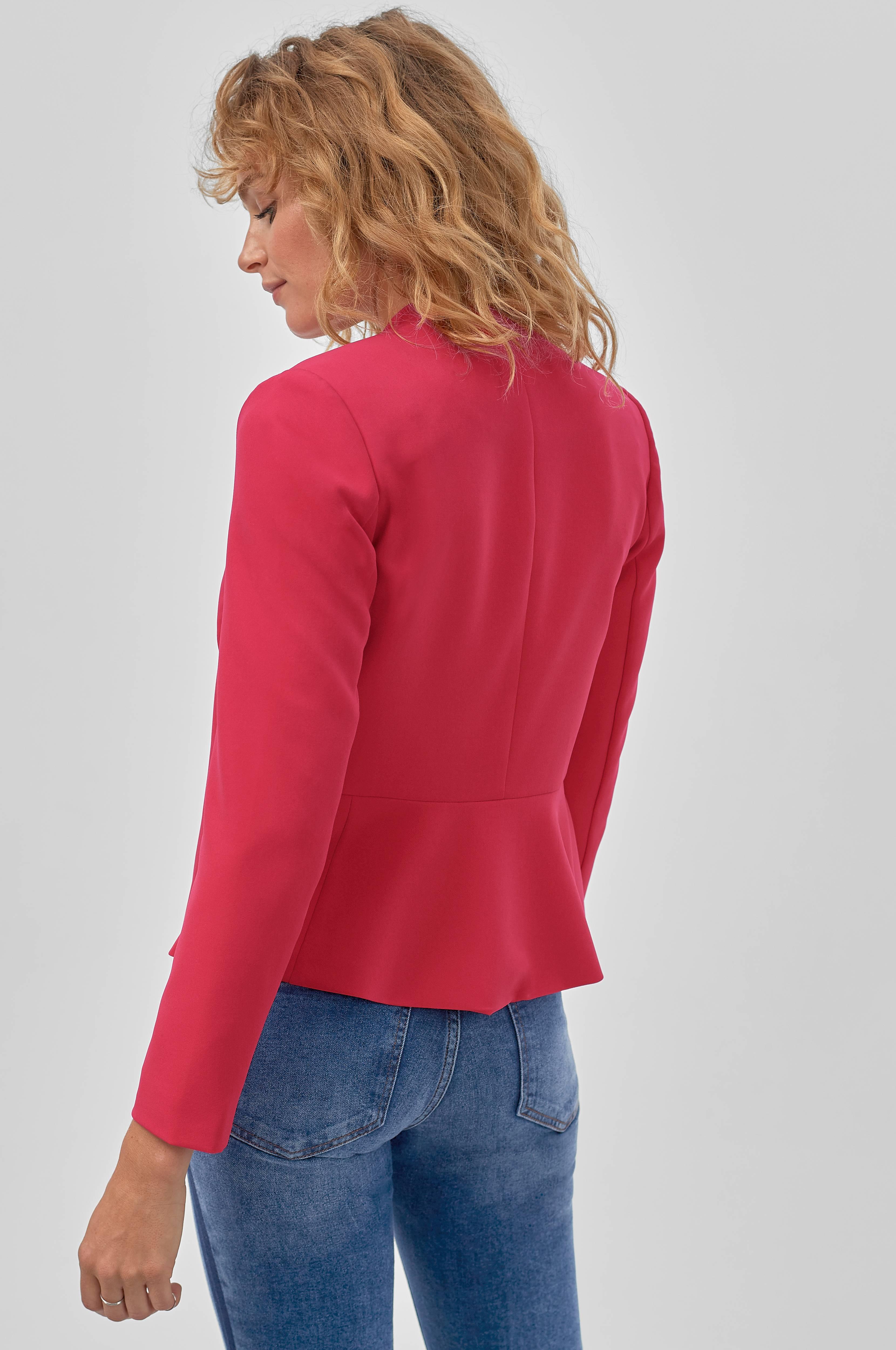 Ellos Collection Kavaj i stretchkvalitet Röd Dressade