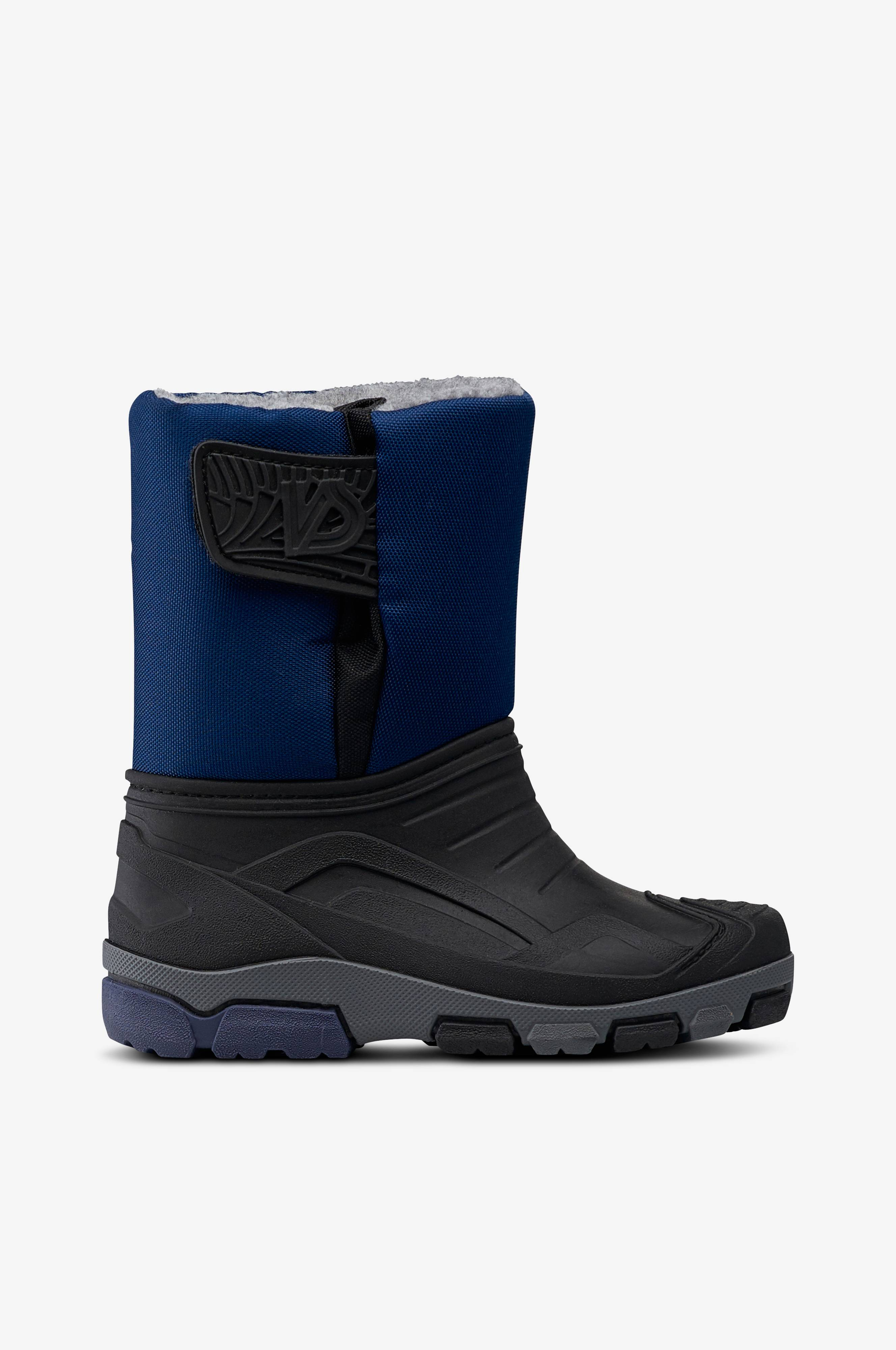 Ellos Shoes Vincent Kids -saappaat - Musta - Lapset - Ellos.fi f09d3d224a