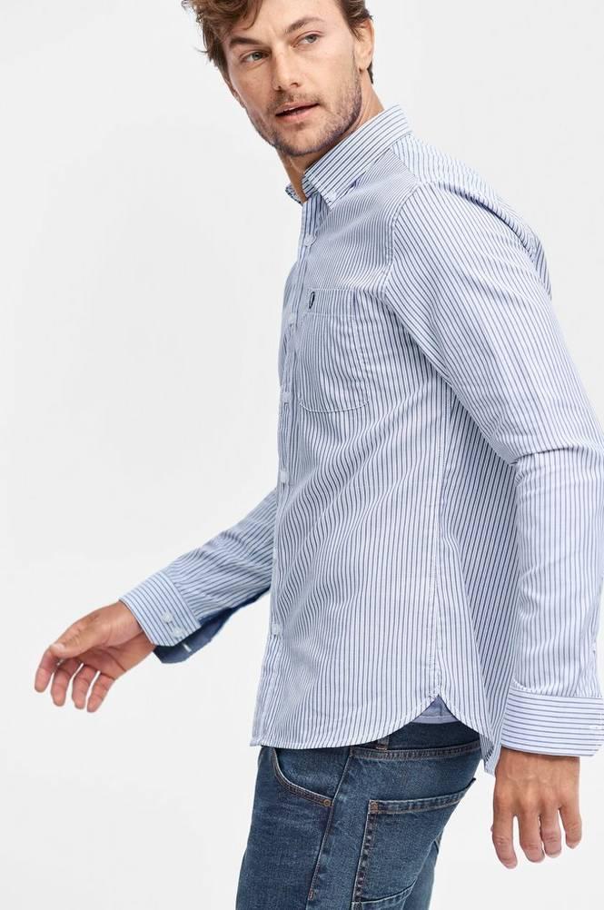 Ellos Skjorte med button down-krave