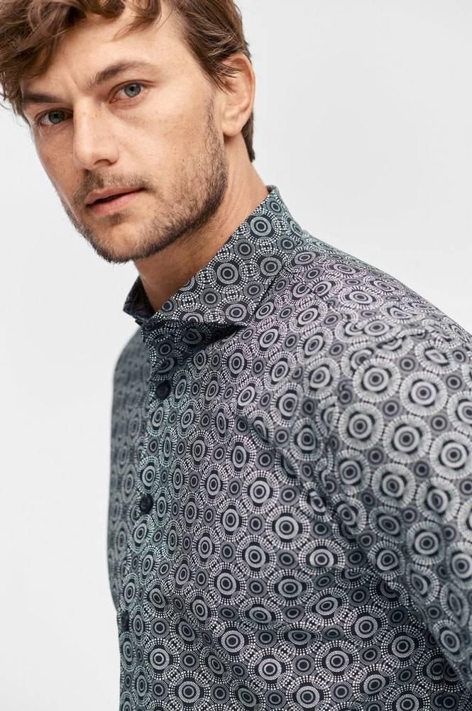 Ellos Mønstret skjorte
