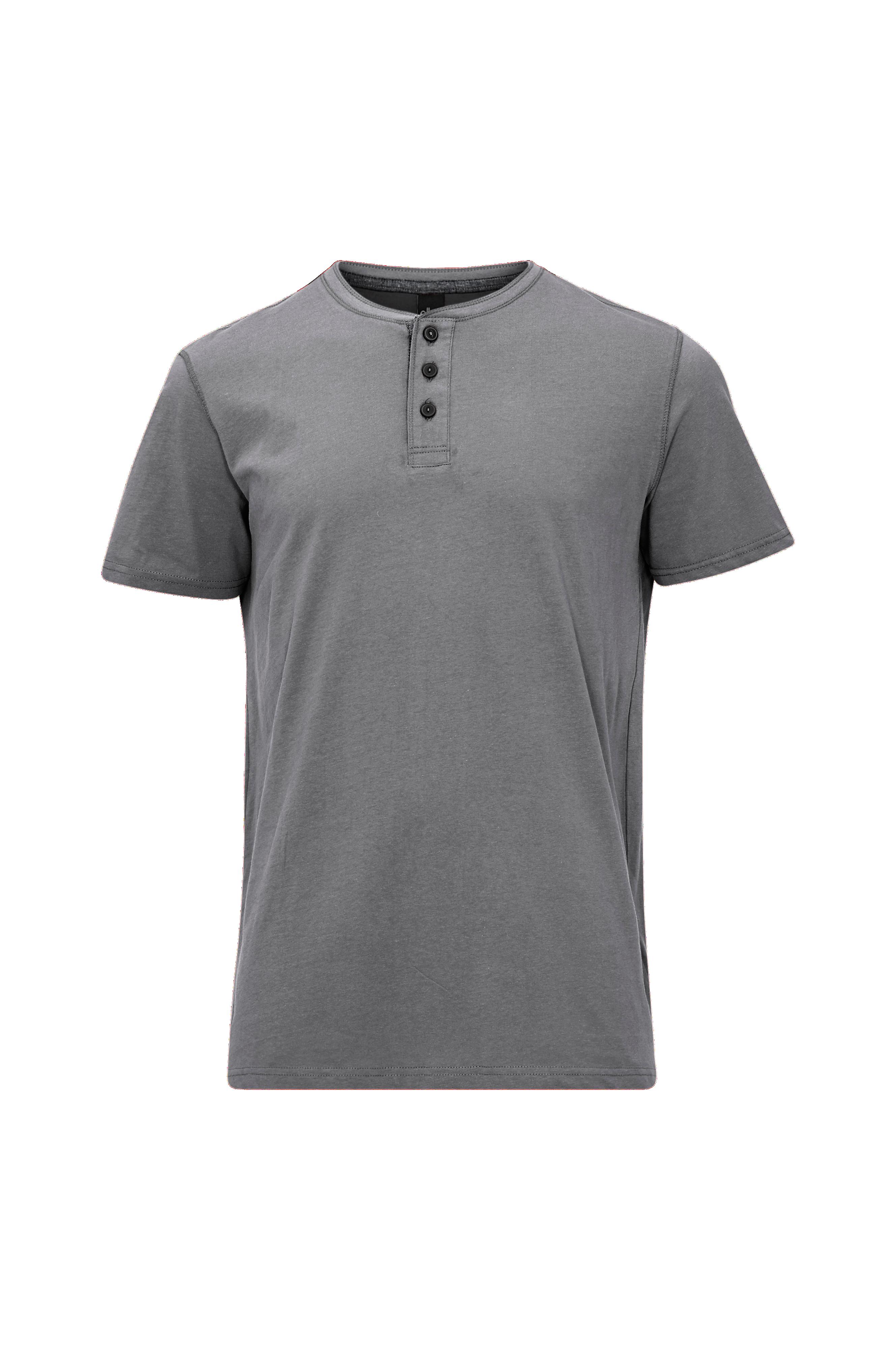 T shirt med knapper