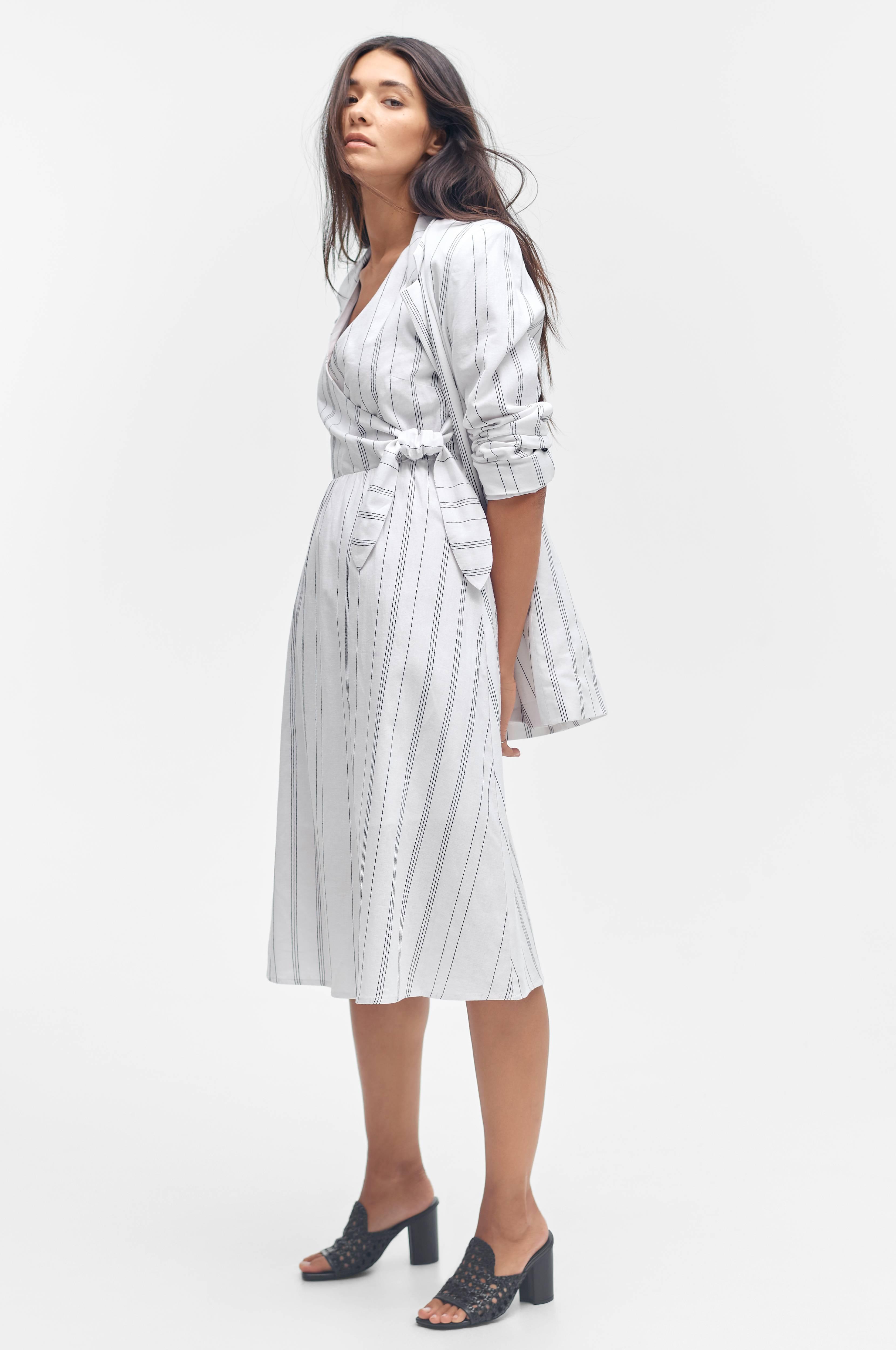 Ellos Collection Klänning Tiffany Vit Sommarklänningar