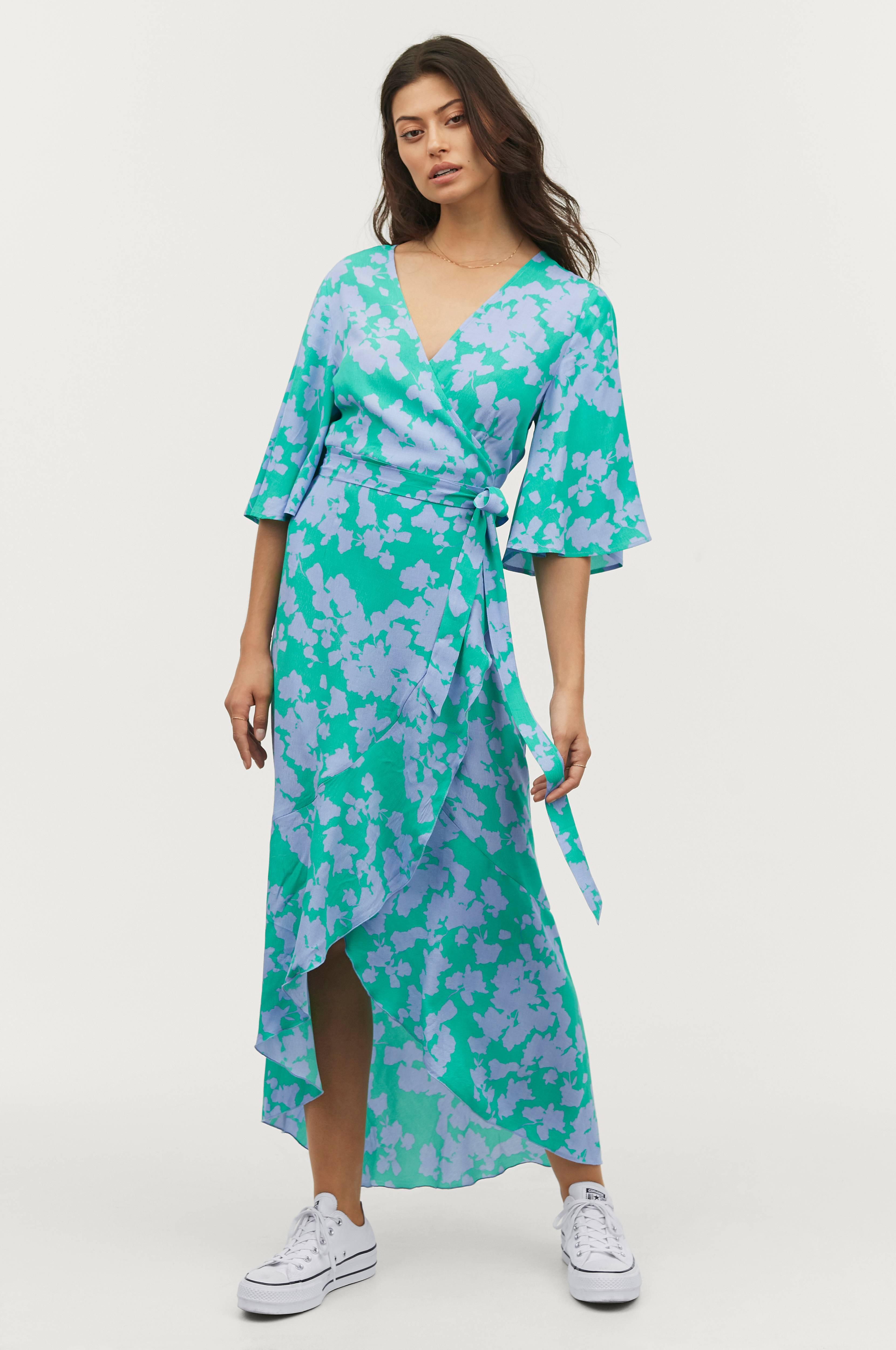 5dd28382e Slå om-kjole Bali
