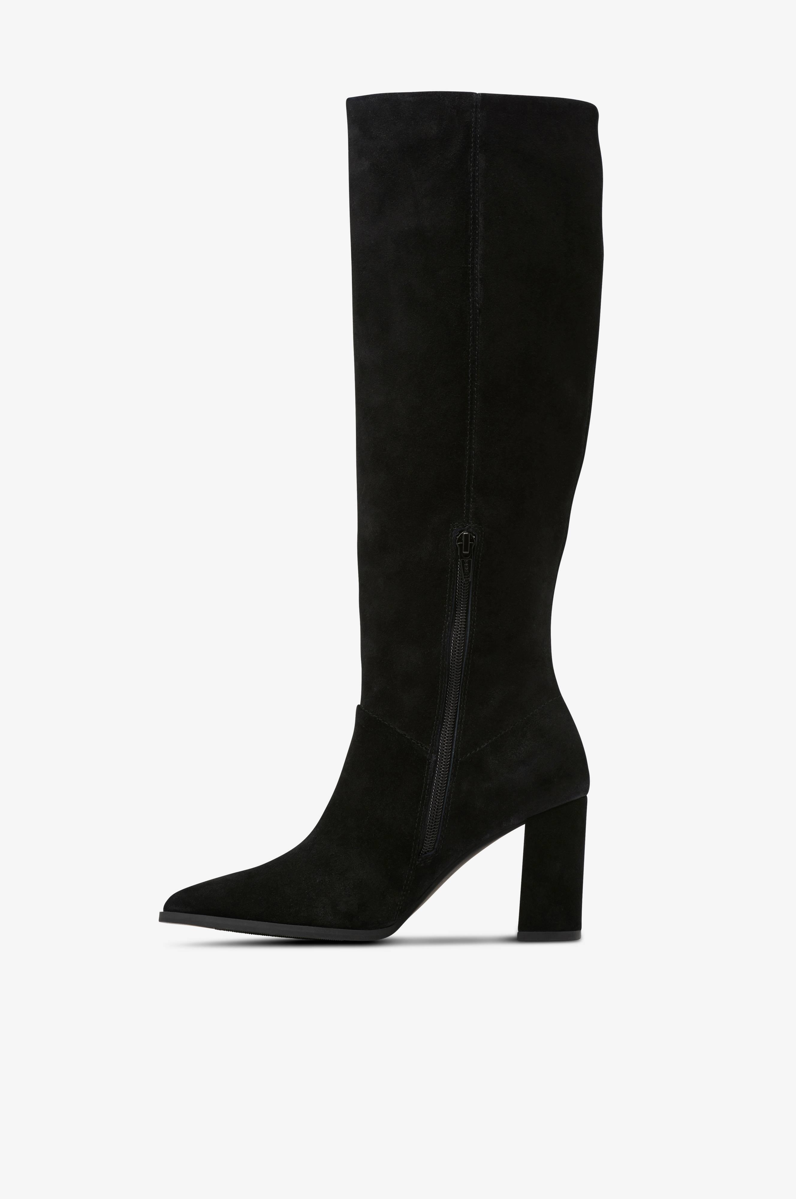 Støvle High Boots Suede