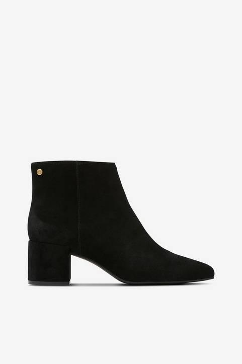 Boots Suede Block