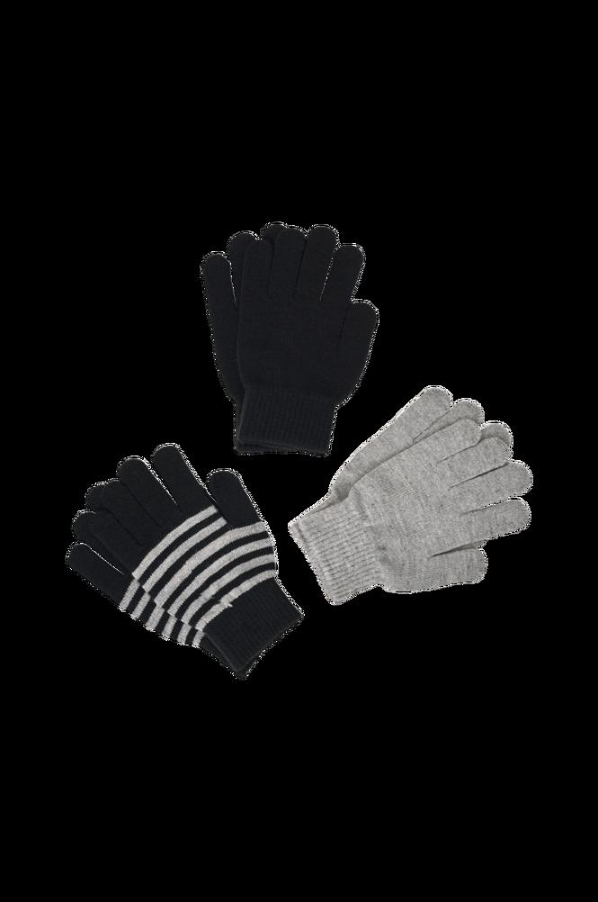 Ellos Fingervanter Magic Gloves 3-pak