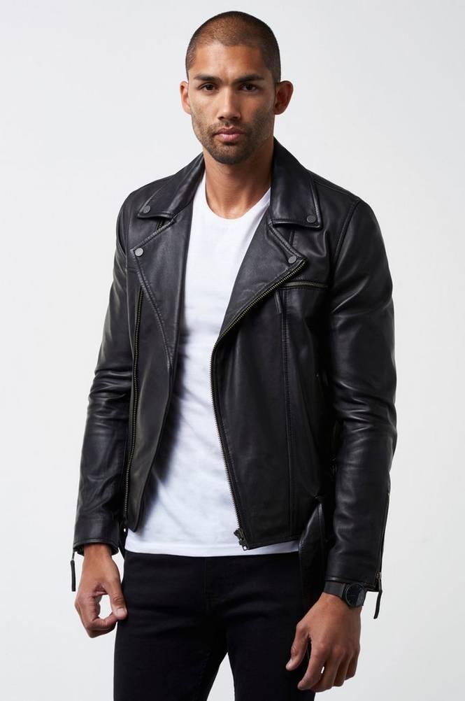 William Baxter Jakke Stevie Leather Jacket